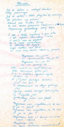 Skrucha Zenon Laskowik