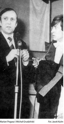 Marian Pogasz i Michał Grudziński