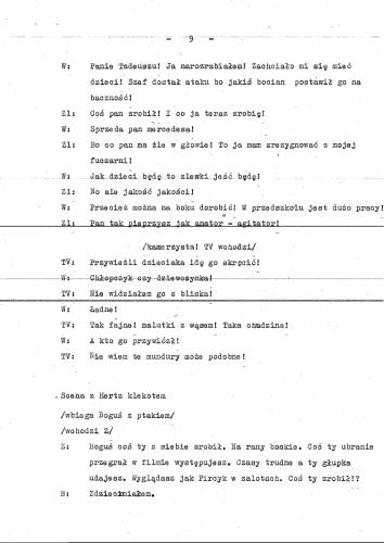 Program przedszkole scenariusz 11