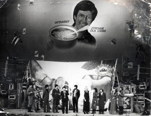 Program s tylu sklepu 13 Sala Kongresowa 24 luty 1981