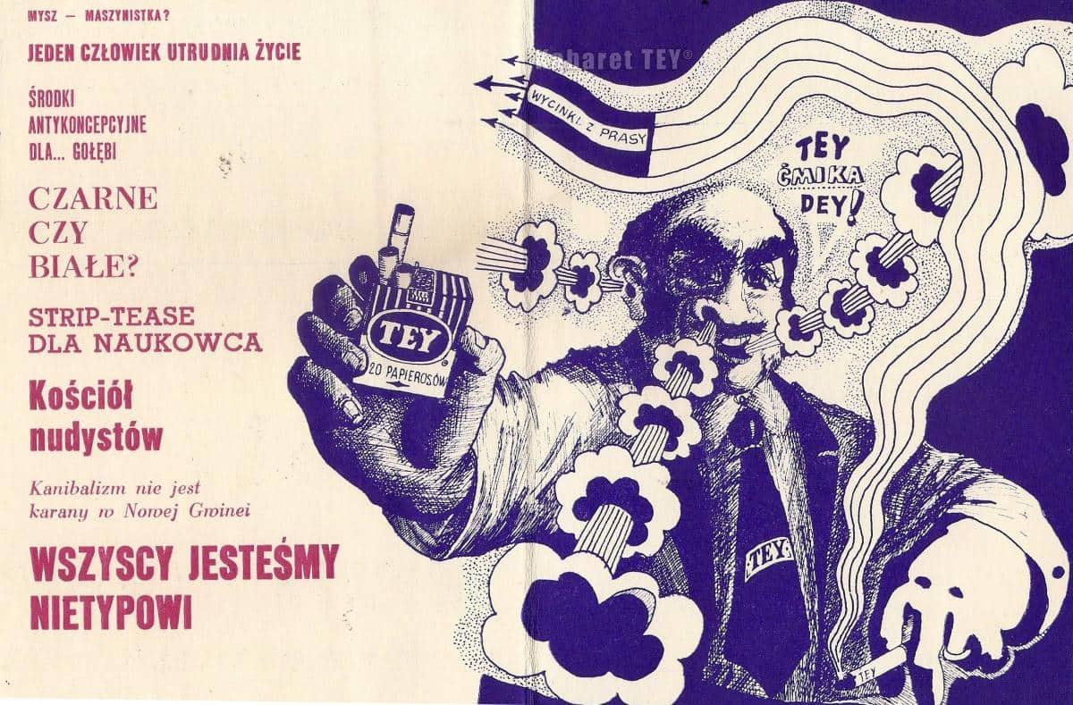 Tey program wizyta i kwita - plakat promujący