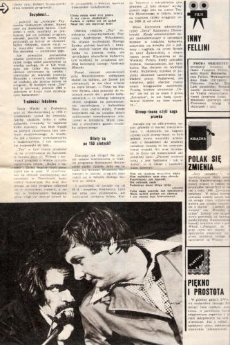 Program wizyta i kwita - Wycinek z gazety - Zenon Laskowik i Bogdan Smoleń