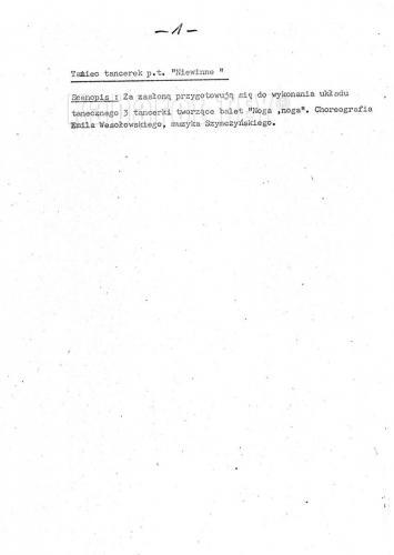 """Program """"Humor, skecz, piosenka, wesołe monologi i ktoś z Warszawy"""" - Scenariusz strona 3"""