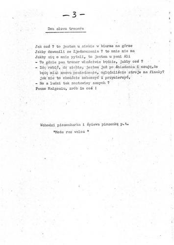 """Program """"Humor, skecz, piosenka, wesołe monologi i ktoś z Warszawy"""" - Scenariusz strona 6"""